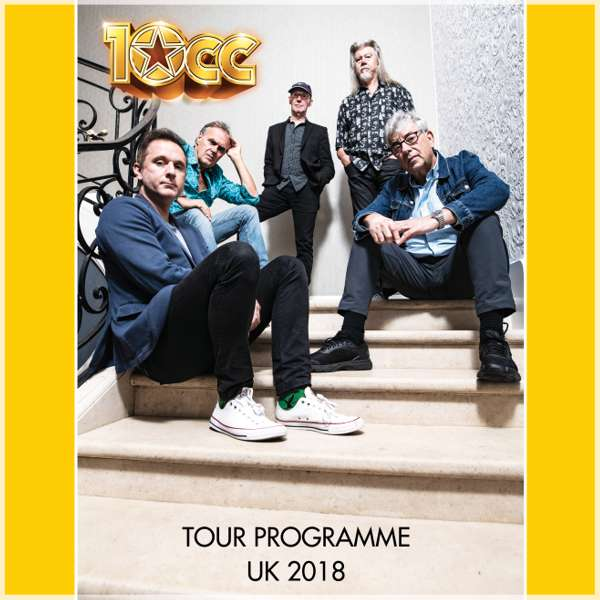 2018 UK Tour programme - 10CC