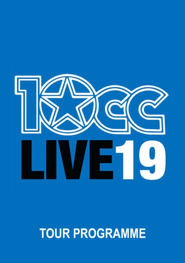 2019 UK Tour Programme - 10CC