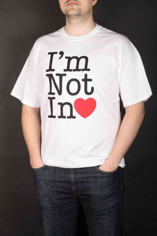 I'm Not In Love T-shirt - 10CC