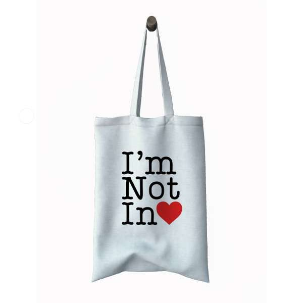 I'm not in love tote bag - 10CC
