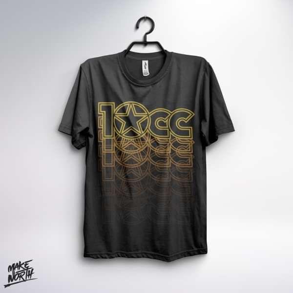 Logo T-Shirt (BLACK) - 10CC