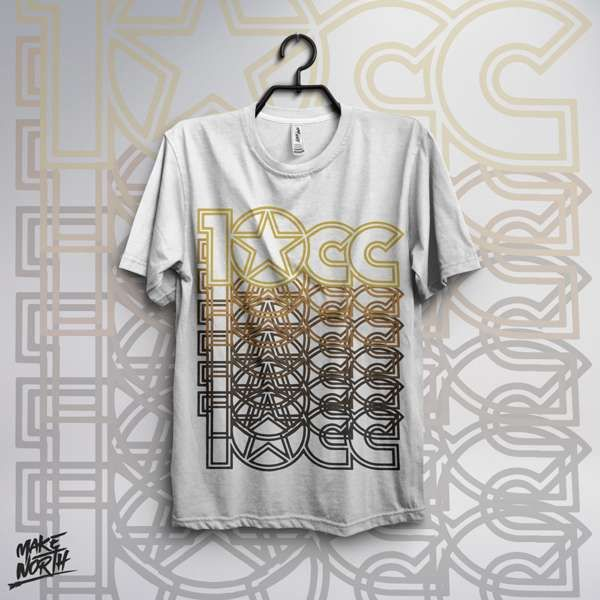 Logo T-Shirt (WHITE) - 10CC