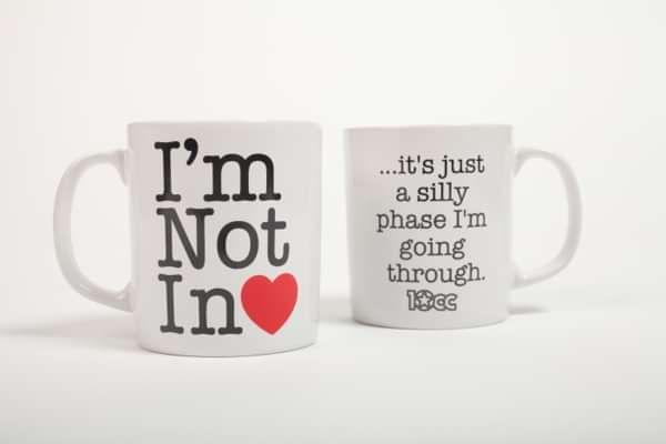 Not In Love Mug - 10CC