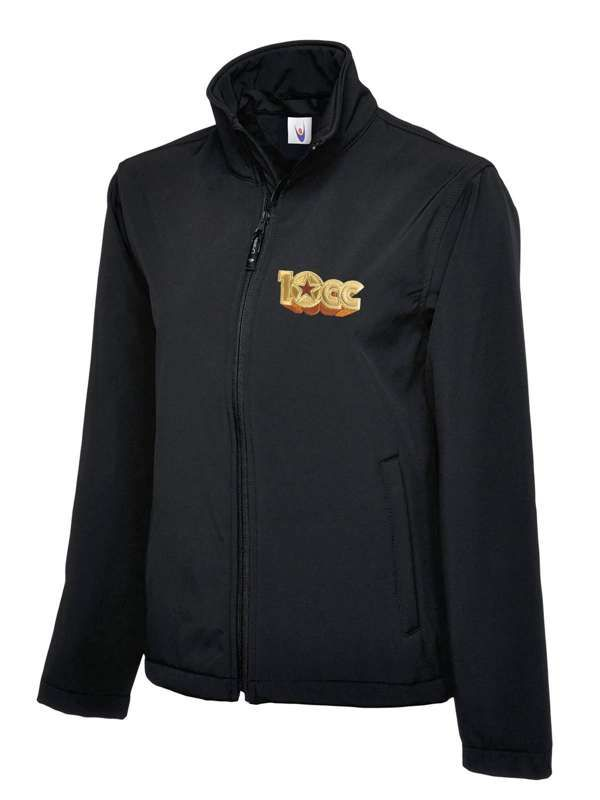 Softshell Jacket (Black) - 10CC