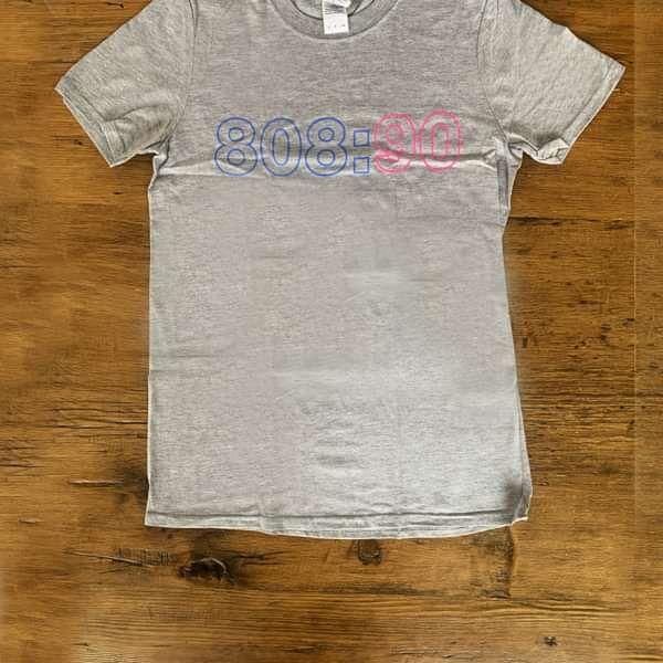 Grey 808:90 T-Shirt - 808 State