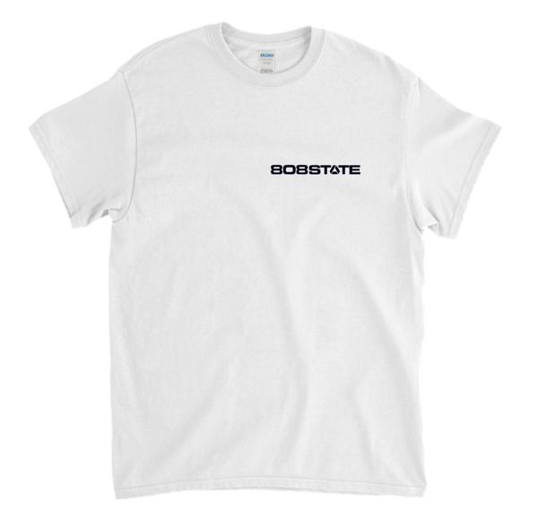 White Logo T-Shirt - 808 State