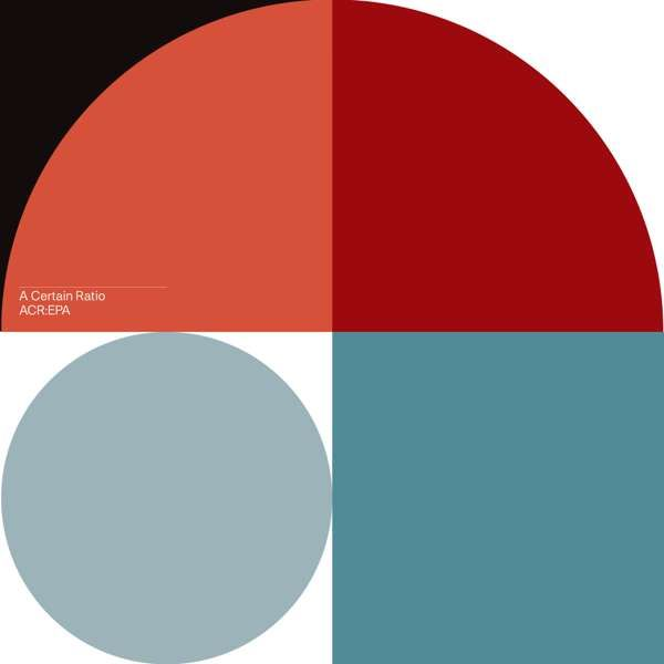A Certain Ratio- ACR:EPA Red LP - A Certain Ratio
