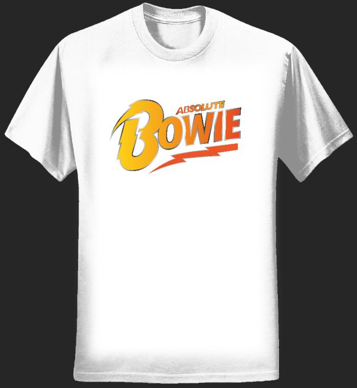 Women's T Shirt (White) Logo - Absolute Bowie