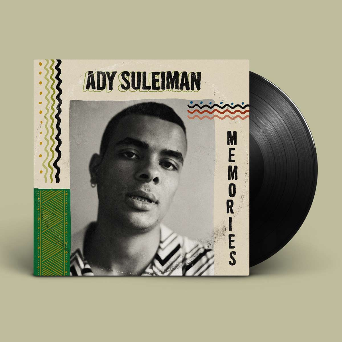 Ady Suleiman Longing For Your Love memories (vinyl)