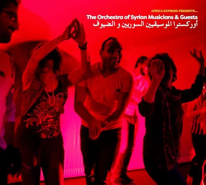 Africa Express Presents... The Orchestra of Syrian Musicians - CD - Africa Express
