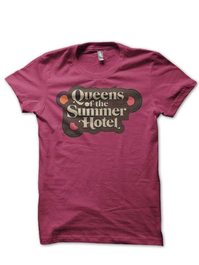PRE-ORDER Queens of the Summer Hotel T-shirt - Aimee Mann