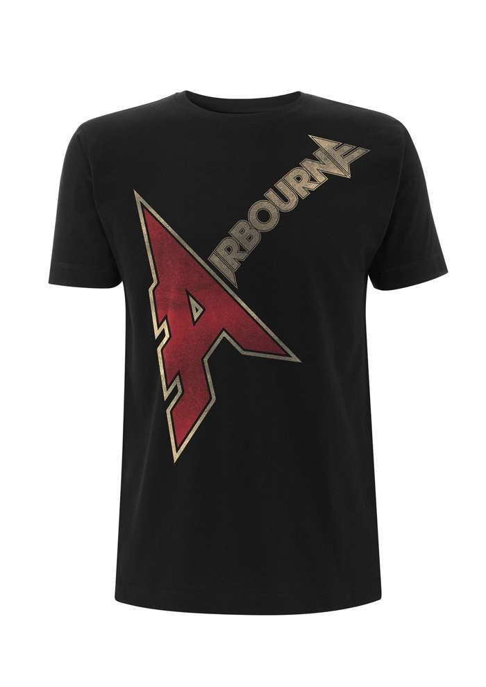 Airbourne - A Logo – T-Shirt - Airbourne
