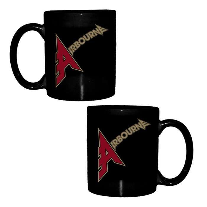 Airbourne - Air Guitar Logo – Black Mug - Airbourne