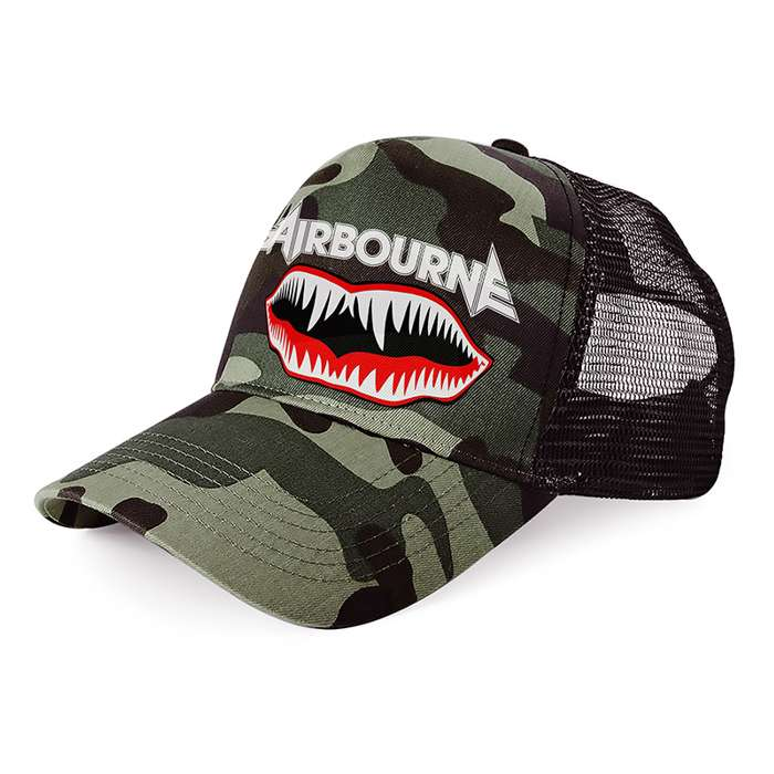 Airbourne - Camo Decal – Trucker Cap - Airbourne