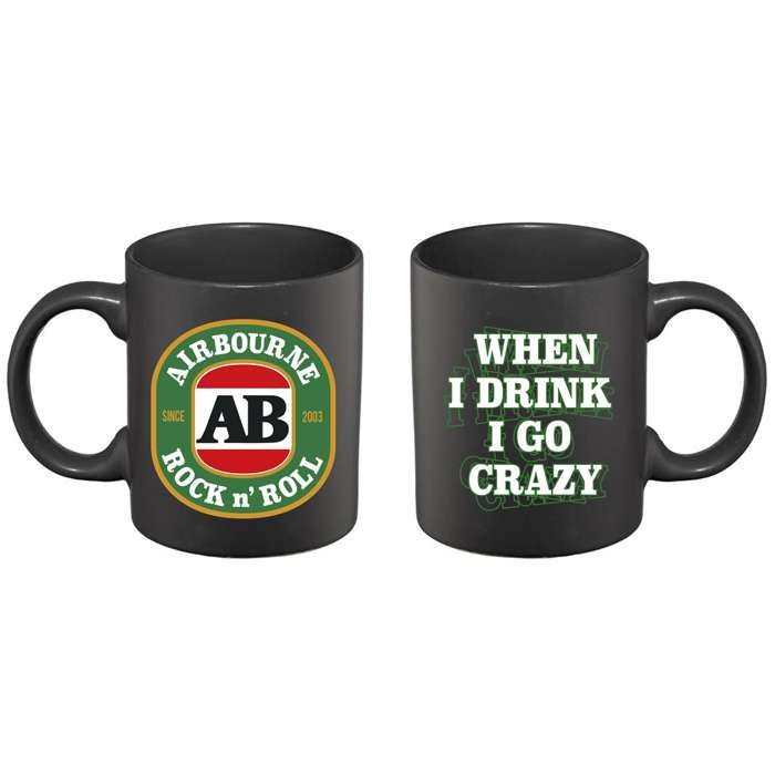 Airbourne - When I Drink I Go Crazy – Mug - Airbourne