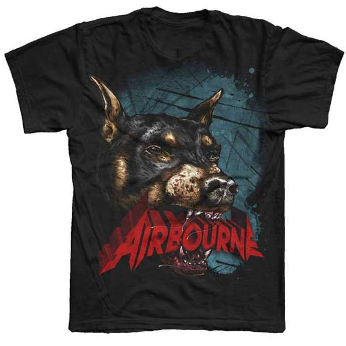 Black Dog T-Shirt - Airbourne