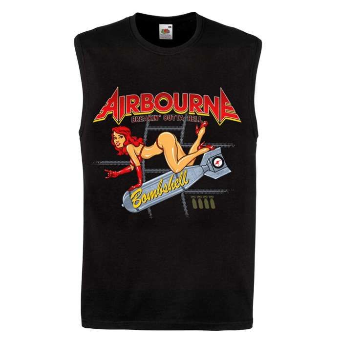 Bombshell - Tank Top - Airbourne