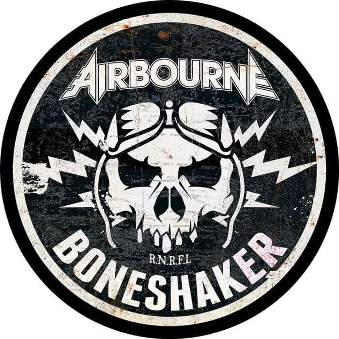 Boneshaker - Back Patch - Airbourne