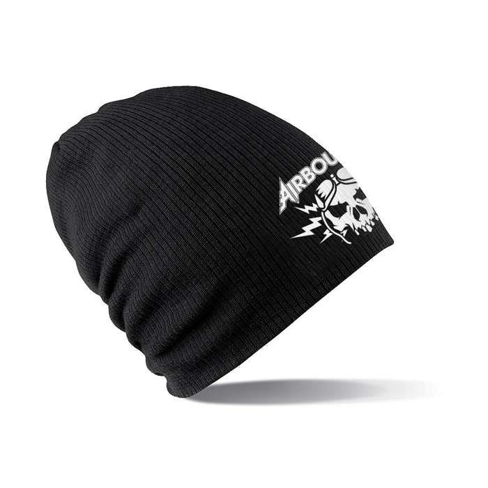 Boneshaker - Embroidered Slouch Beanie - Airbourne