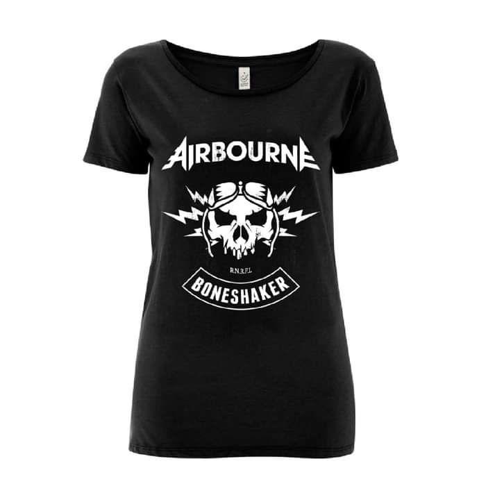 Boneshaker - Ladies Tee - Airbourne