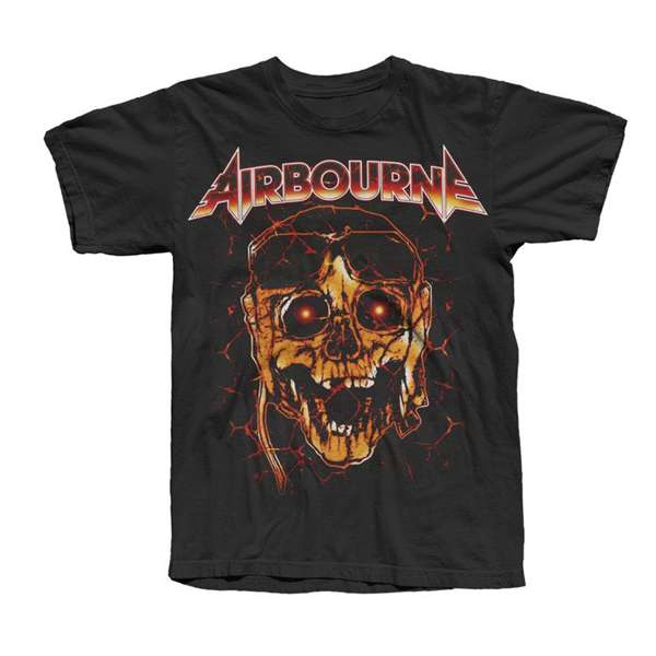 Glowing Skull Tee - Airbourne