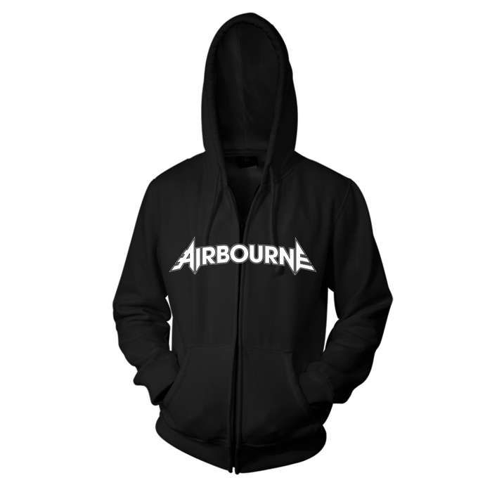 Playing Cards - Black Zip Hood - Airbourne