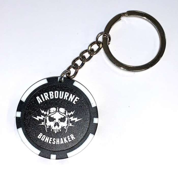 Poker Chip - Keyring - Airbourne