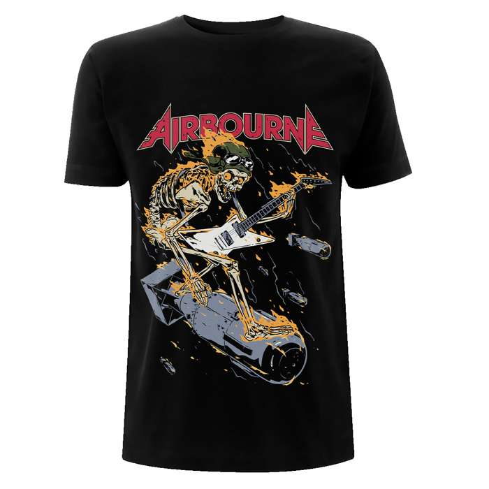 Scorch Bomb Tour – Tee - Airbourne