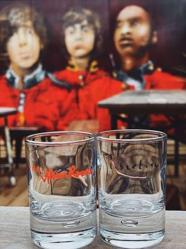 Albion Rooms & Libertine shot glass bundle - Albion Rooms Margate