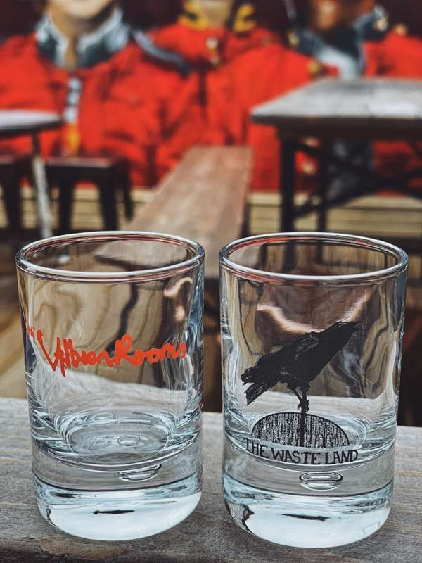 Albion Rooms & Wasteland Shot Glass Bundle - Albion Rooms Margate