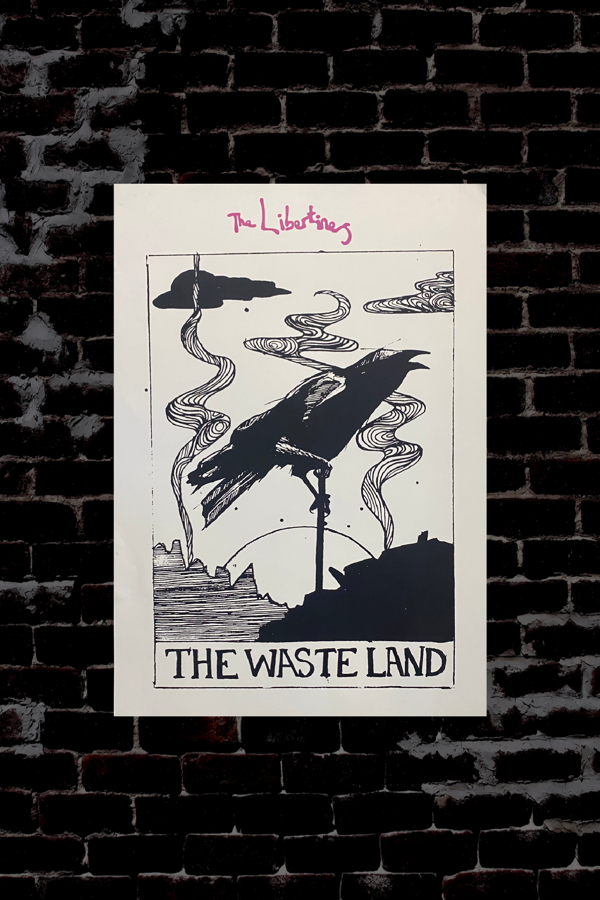 Waste Land Poster - Albion Rooms Margate