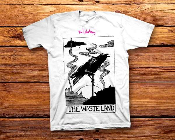 Waste Land Tee (SALE) - Albion Rooms Margate