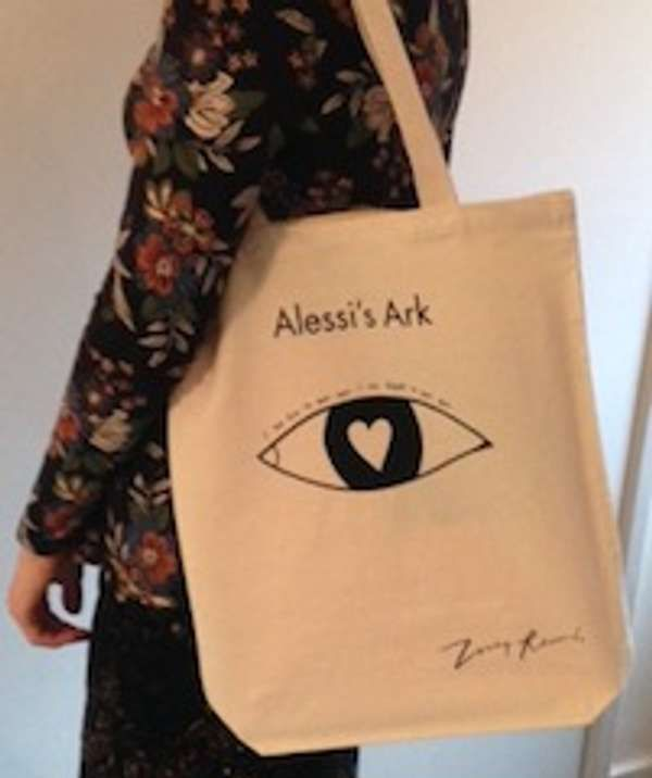 'Love eye' tote bag - Alessi's Ark