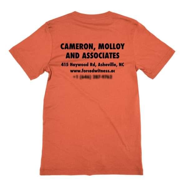 Cameron, Molloy and Associates - Orange - Alex Cameron (DEAD)