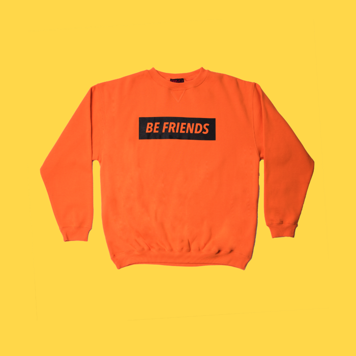 Alice Ivy 'Be Friends' Orange Sweater - Alice Ivy
