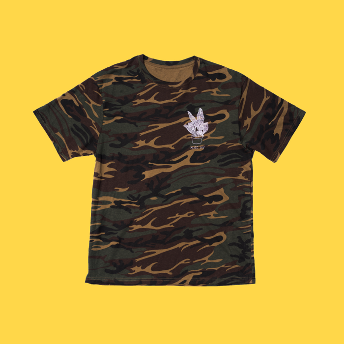 "Alice Ivy ""I""m Dreaming"" Short-Sleeve (Camo) - Alice Ivy"