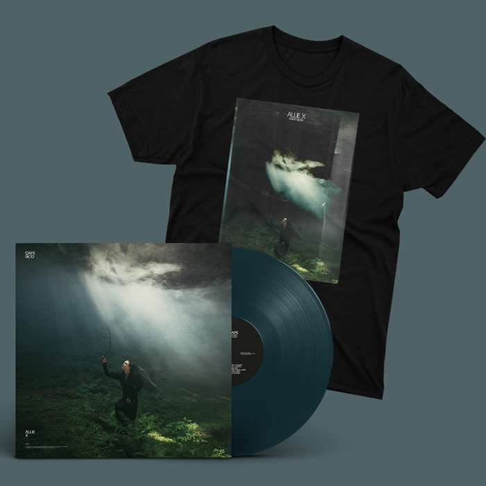 Vinyl + T-Shirt Bundle - Allie X