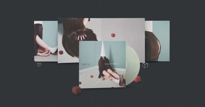 COLLXTION II - Gatefold Signed DeluXe Version - Allie X UK