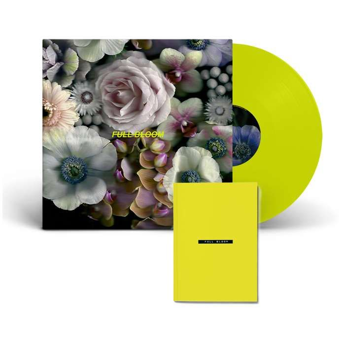 """Full Bloom [12"""" Neon Yellow Vinyl + Zine] - Alpines"""