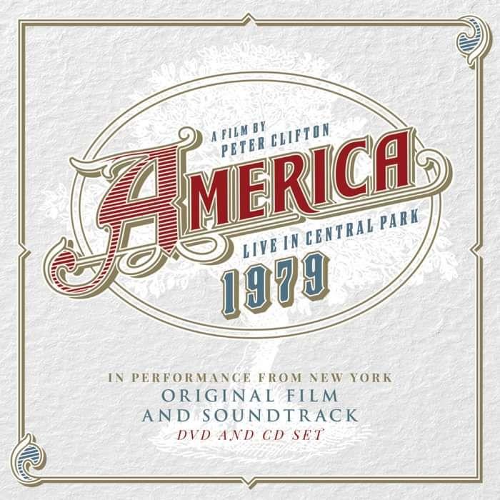 America Live In Central Park 1979 CD & DVD - America