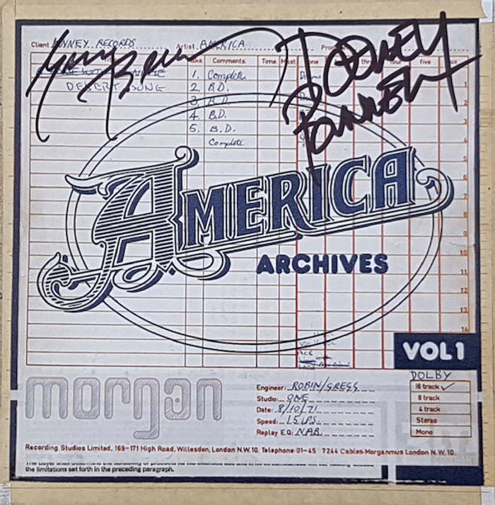 Signed - Archives Vol. 1 CD - America
