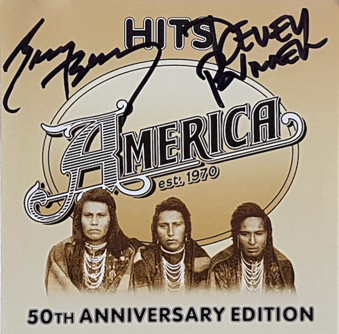 Signed - Hits: 40th Anniversary Edition CD - America
