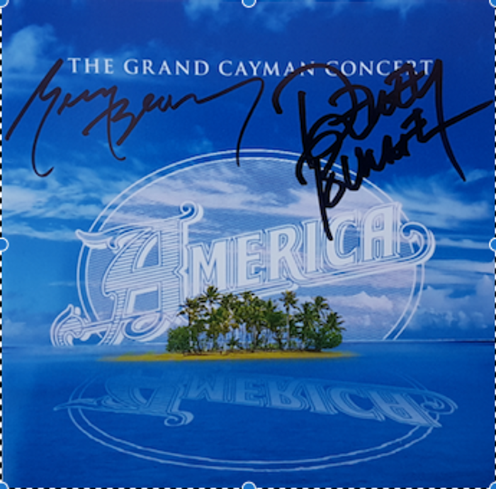 Signed - The Grand Cayman Concert CD - America