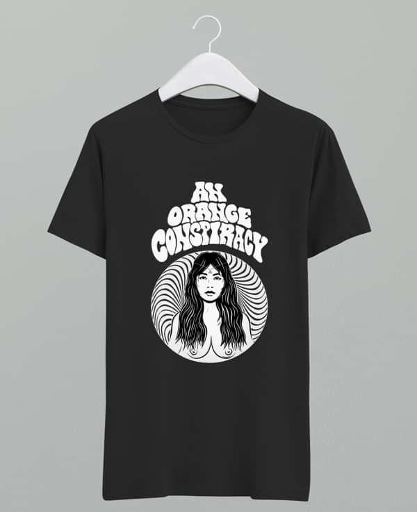Woman T-shirt - An Orange Conspiracy