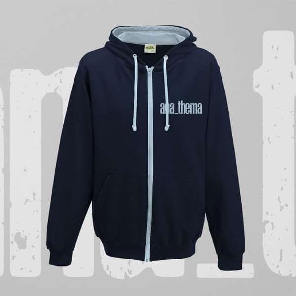 Anathema - 'Logo' Zip Hoodie - Anathema US