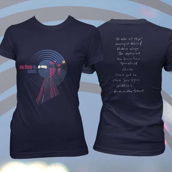 Anathema - 'Roads' Fitted T-Shirt - Anathema US