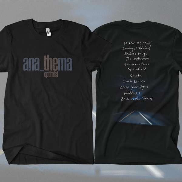 Anathema - 'Tracks' T-Shirt - Anathema US