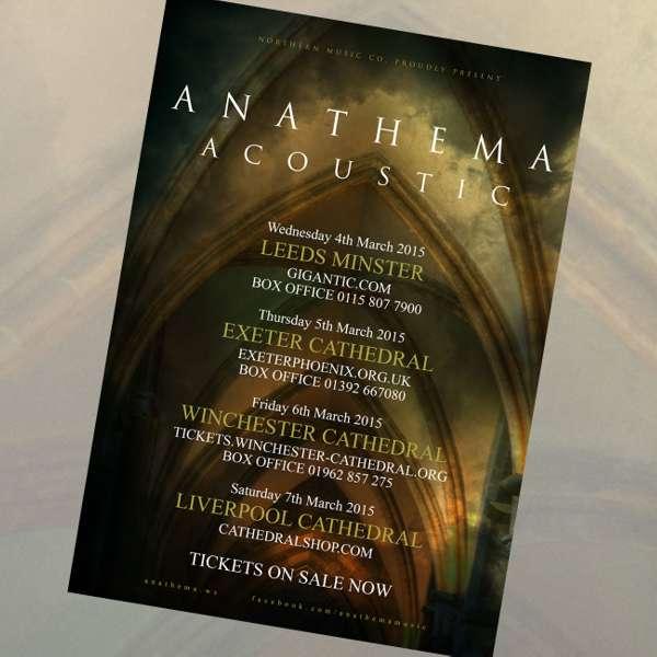Anathema - 'Acoustic' Poster - Anathema