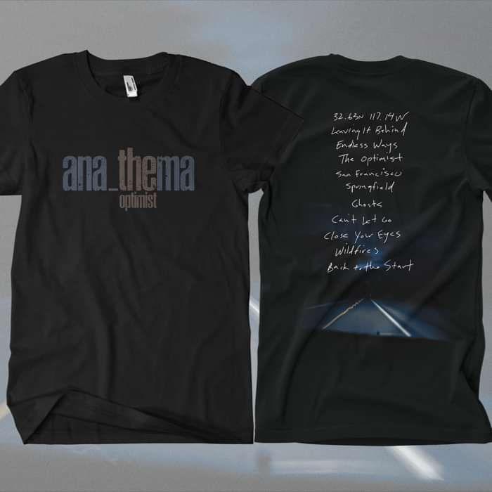 Anathema - 'Tracks' T-Shirt - Anathema