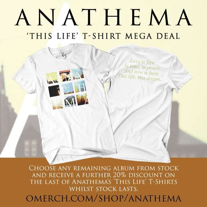 Last T-Shirts & Any Album Bundle - Anathema